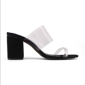 Translucent Heeled Sandal Rumor Who What Wear